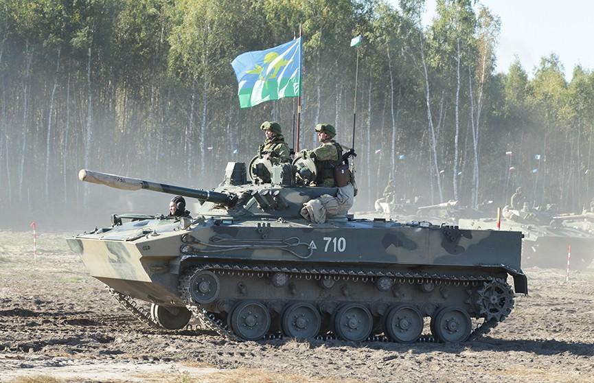 Белорусские десантники завершают подготовку к активной фазе учения, в котором примут участие российские военные
