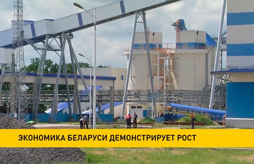 Экономика Беларуси демонстрирует рост