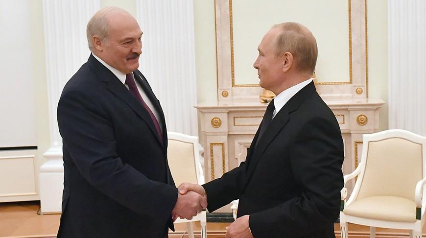 Все 28 программ по Союзному государству согласованы по итогам переговоров Лукашенко и Путина