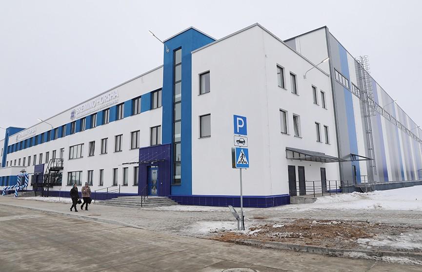 В Оршанском районе заработал крупный логистический комплекс: на хранение приняли первые 100 тонн грузов
