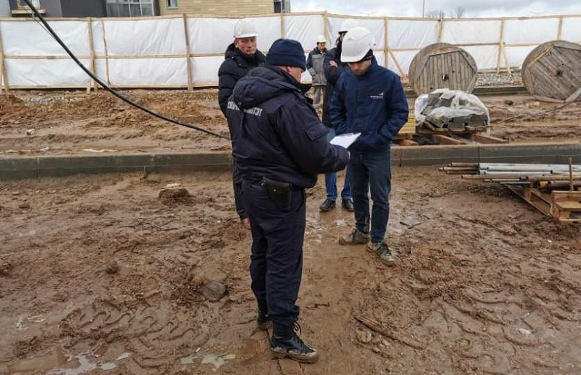 В Минском районе на рабочем месте погиб строитель