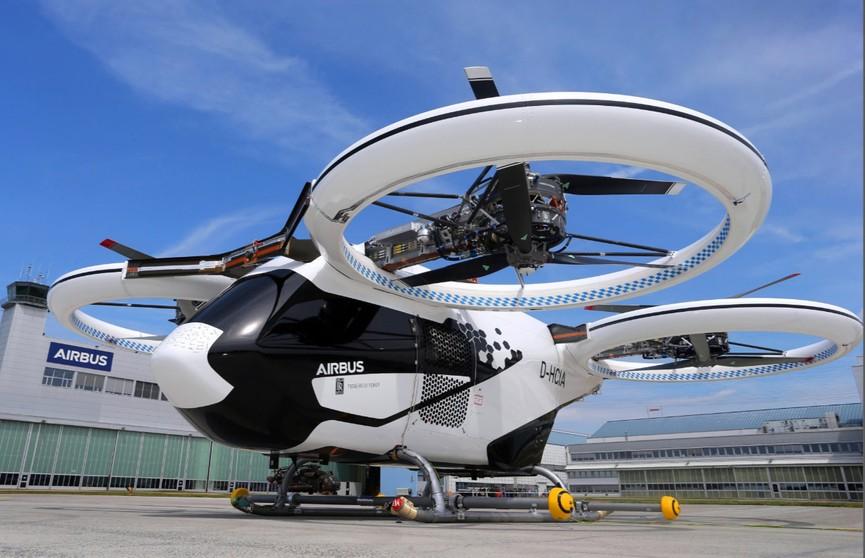 В Германии испытали беспилотное летающее такси