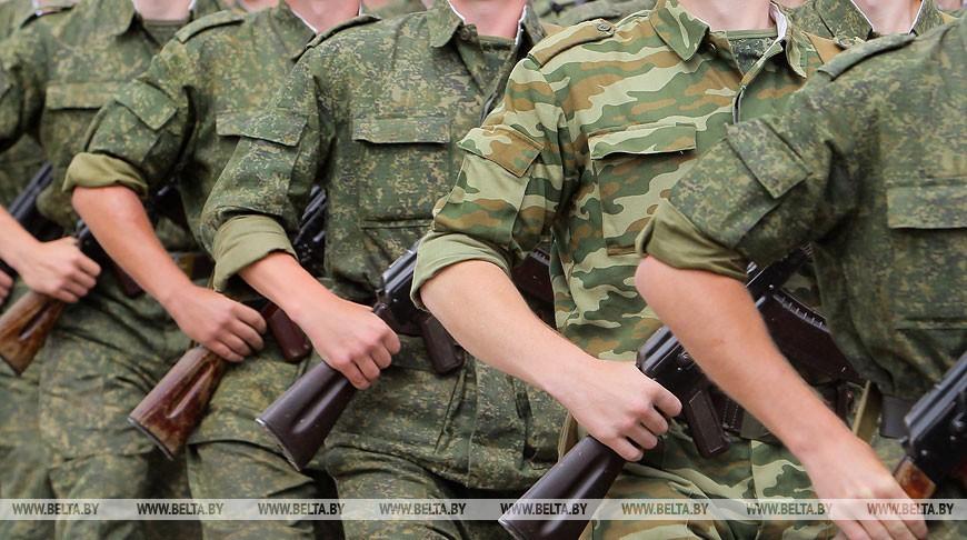 Сроки осеннего призыва в армию перенесли в Беларуси