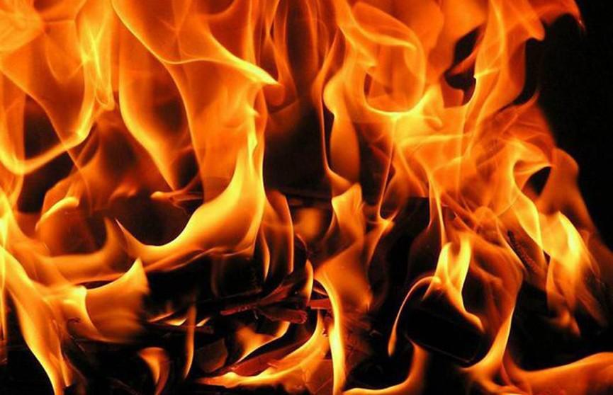 Мужчина погиб во время пожара на предприятии в Барановичском районе