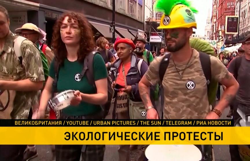 Протесты в мире: в Лондоне выступают против добычи нефти, а в Перу недовольны правительством