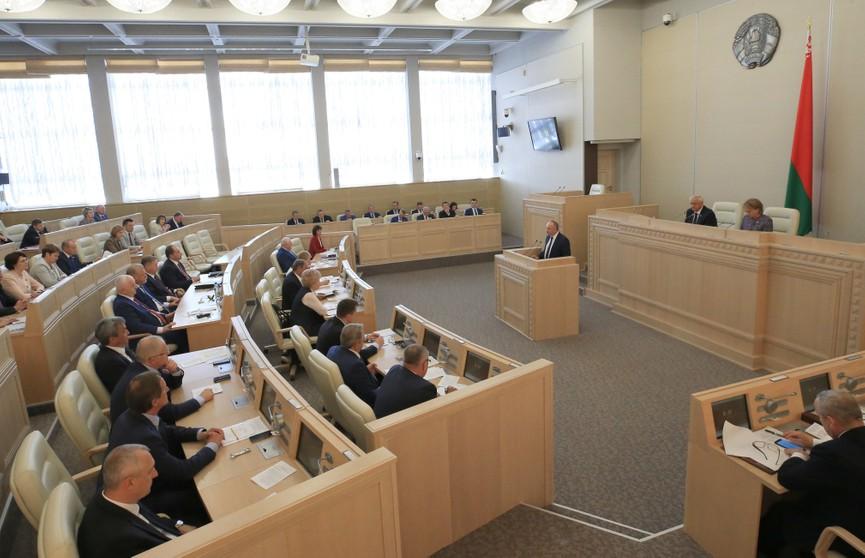 Законопроекты о борьбе с коррупцией и изменениях в сфере здравоохранения рассмотрел Совет Республики