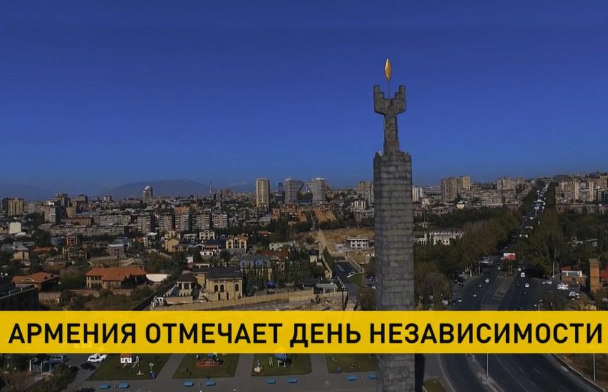 Армения празднует День независимости. Поздравления направил Александр Лукашенко