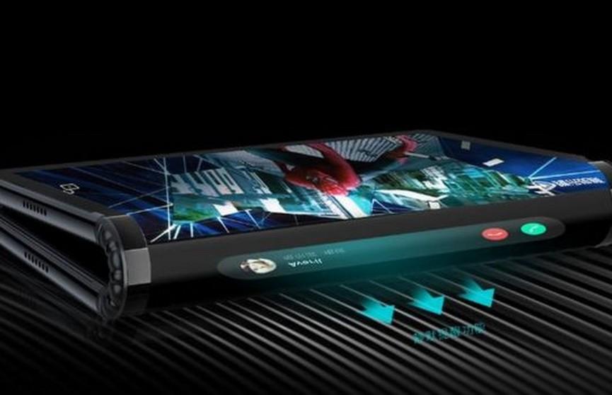 Китайцы представили первый в мире складной смартфон