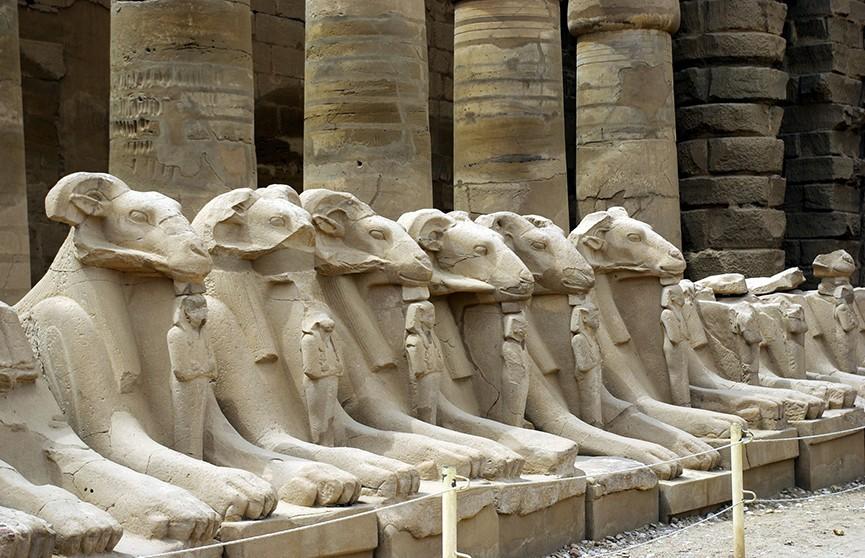 Редкого сфинкса обнаружили в Египте