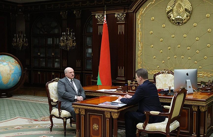 «Минск – это город, с которого надо брать пример» – Лукашенко принял мэра столицы с докладом