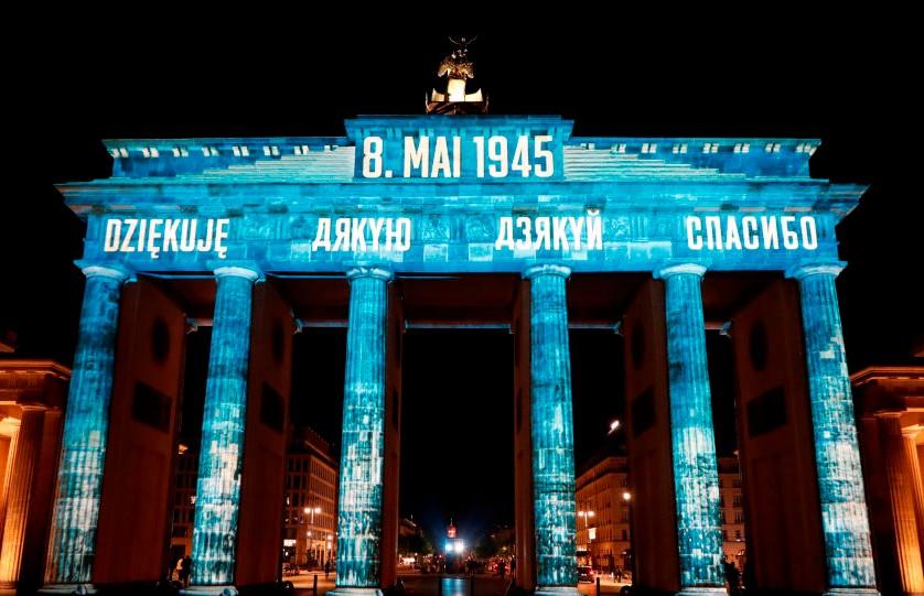 «Дзякуй»: Германия на белорусском языке поблагодарила за освобождение от нацизма