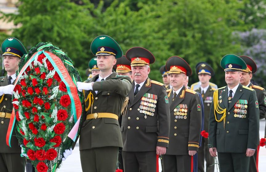 Пограничные войска Беларуси отмечают профессиональный праздник