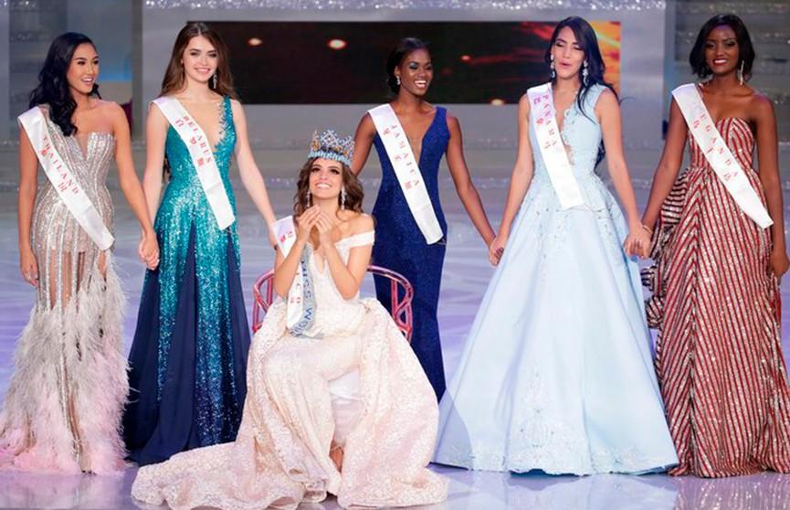 Белоруска Мария Василевич вошла в топ-5 конкурса «Мисс мира-2018»