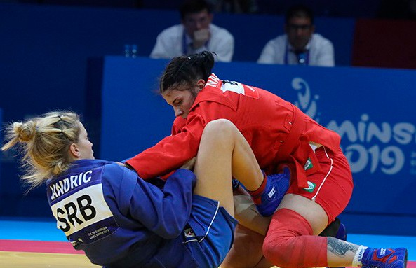 Белорусские самбисты завоевали восемь медалей на II Европейских играх