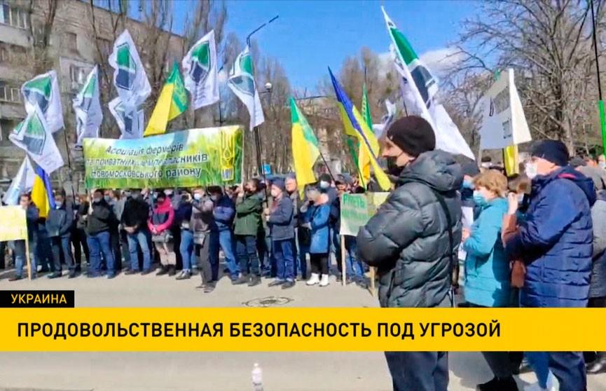 Продовольственная безопасность Украины находится под угрозой