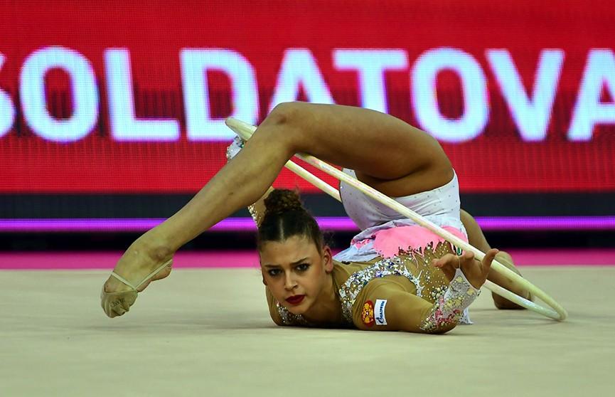 Белорусские гимнастки не завоевали наград на этапе Мирового вызова в Казани