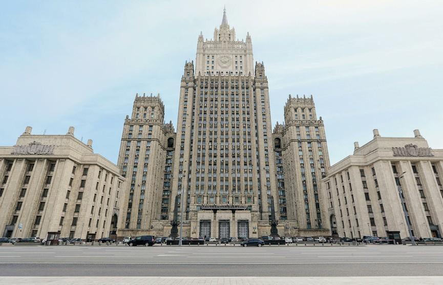 МИД России: протестами в Беларуси управляли, в том числе с территории Украины