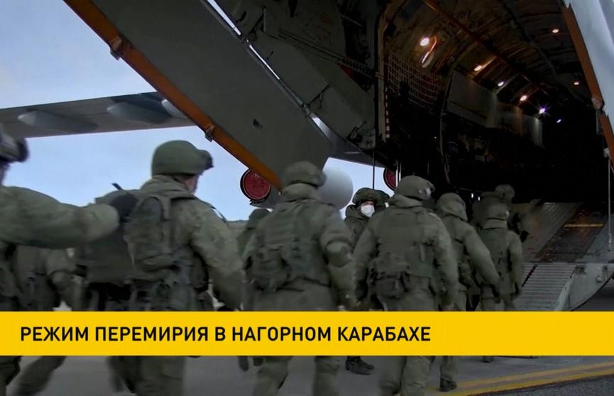 Нагорный Карабах переходит в режим перемирия