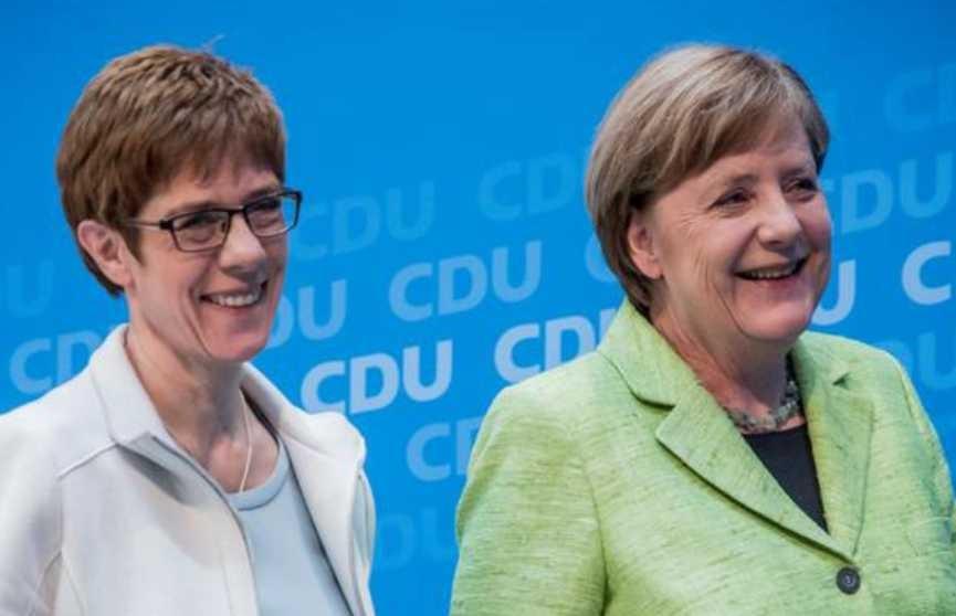 Избрали преемника Меркель на посту лидера партии в Германии