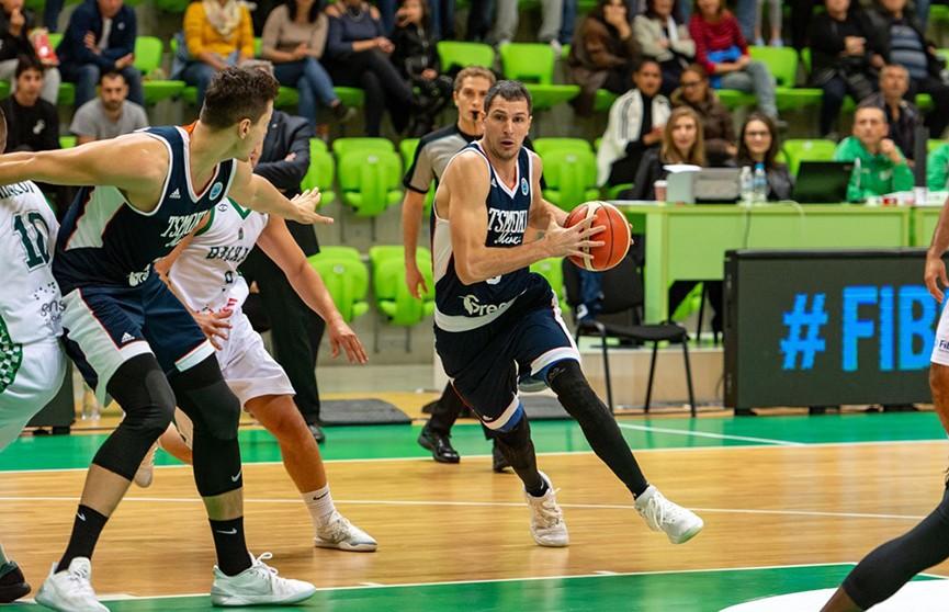 Баскетболисты «Цмокi-Мiнск» проиграли болгарскому «Балкану»