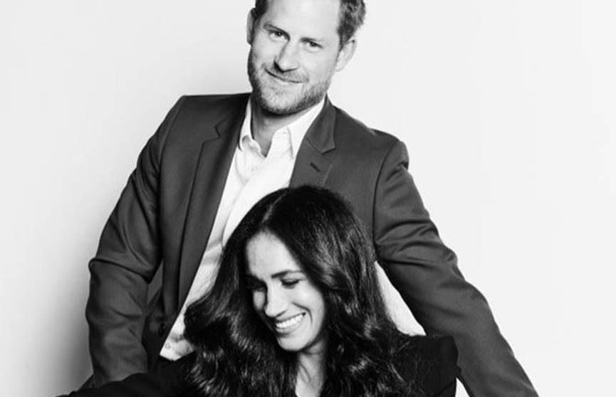 Принц Гарри и Меган Маркл представили первые после «мегзита» официальные фотографии