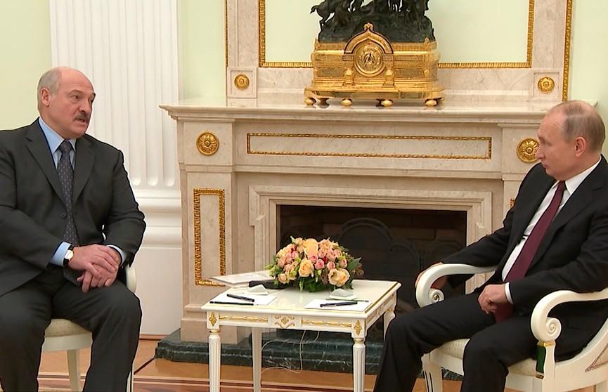 Александр Лукашенко  и Владимир Путин встретятся 13 февраля в Сочи