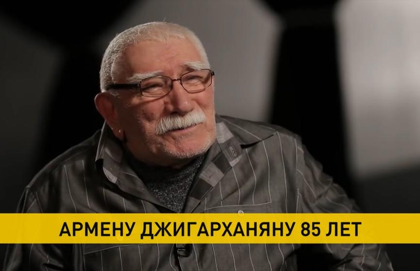Армен Джигарханян отмечает 85-летний юбилей