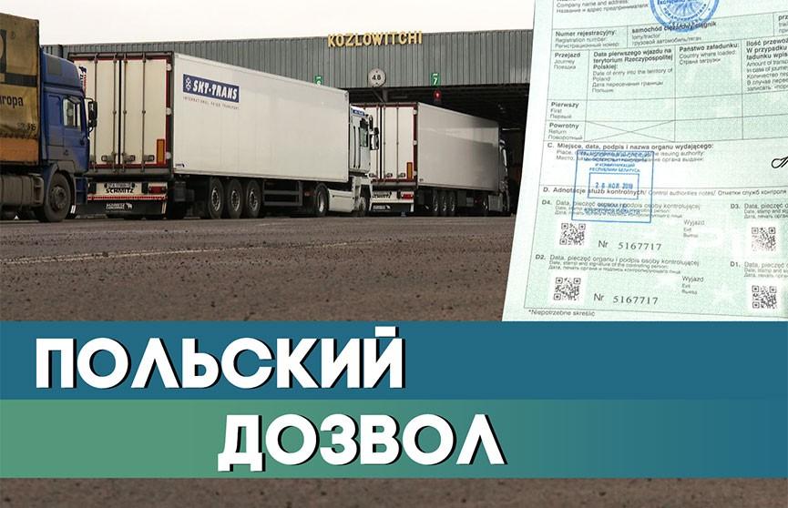 Протест белорусских перевозчиков: разрешения на проезд с декабря начали распределять по новой формуле. Как исправить ситуацию?