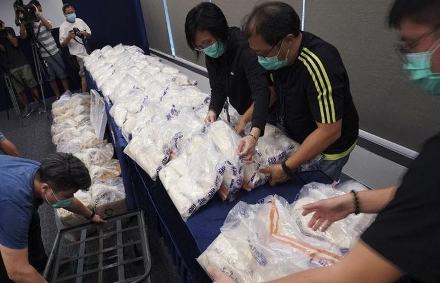 Полиция Гонконга конфисковала партию наркотиков на $22 млн