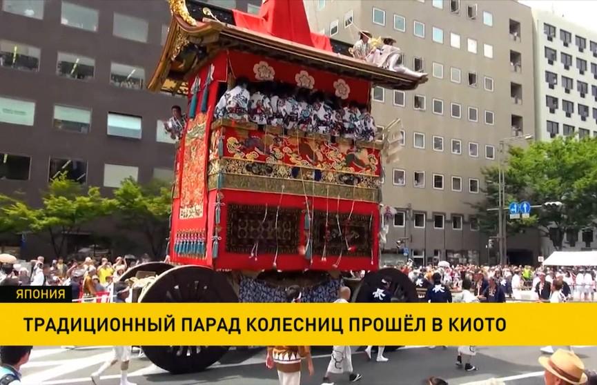 Парад колесниц собрал 120 тысяч зрителей в Японии