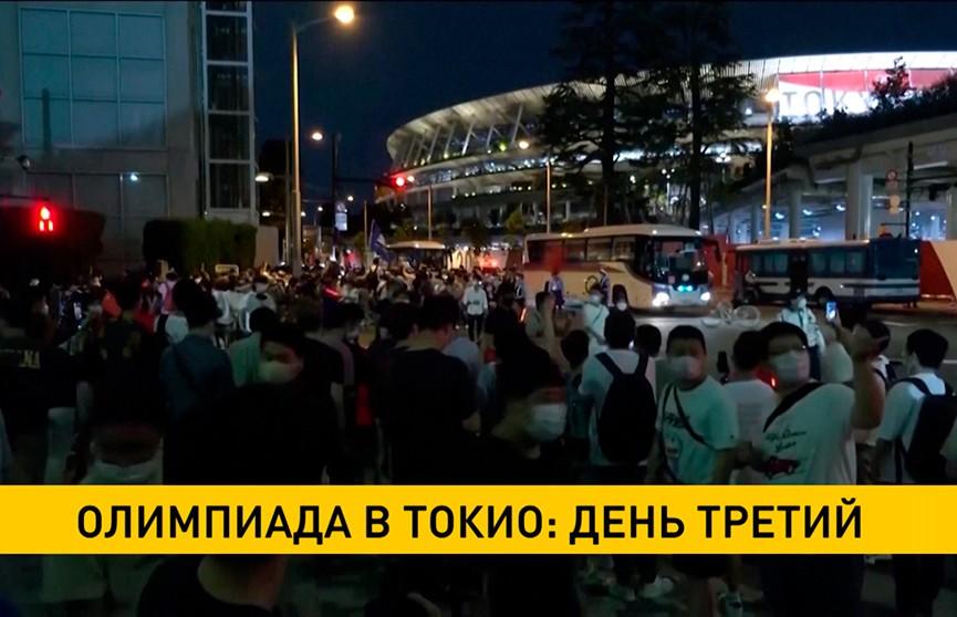 Олимпиада в Токио: день третий. Арина Соболенко обыграла польскую теннисистку Магду Линнет