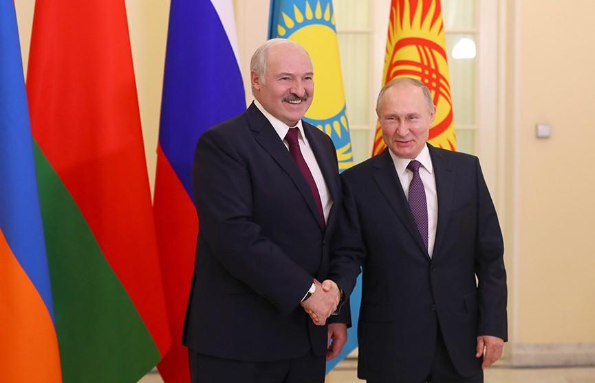 Итоги переговоров Лукашенко и Путина в Санкт-Петербурге