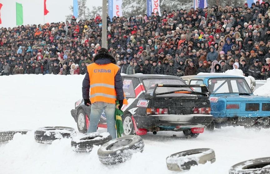 «Горячий лёд»: второй этап чемпионата Беларуси по зимним трековым гонкам начинается в Боровой