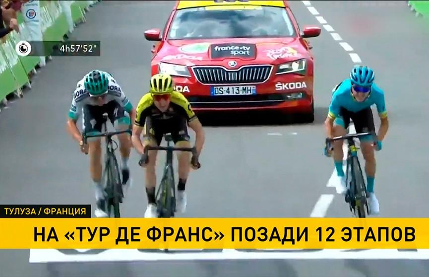 Британец Саймон Йейтс победил в 12 этапе «Тур де Франс»