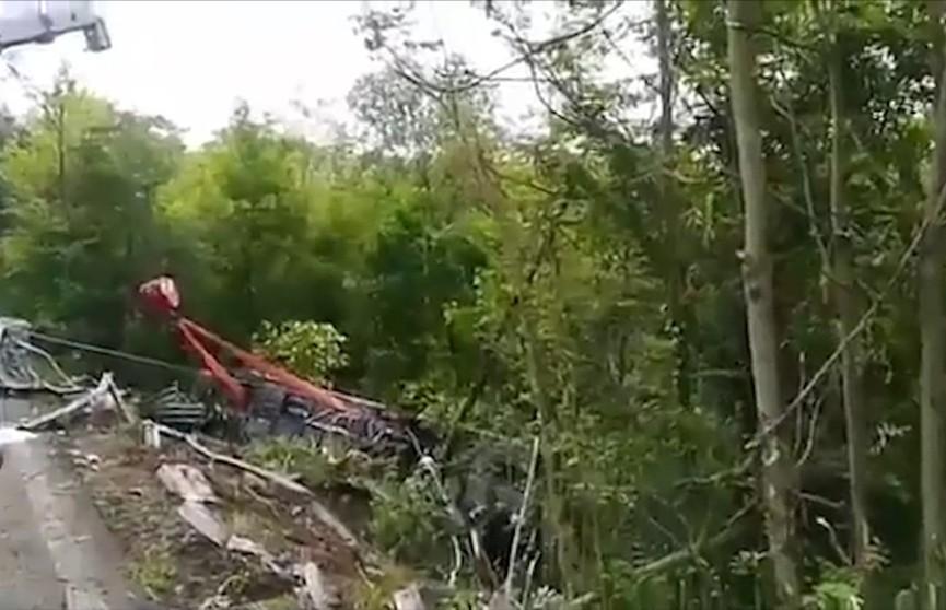 Белоруска пострадала в аварии с автобусом в Италии
