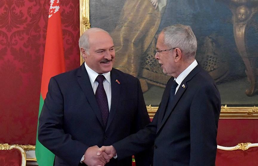 От геополитики до личных гарантий бизнесу. Итоги официального визита Александра Лукашенко в Австрию