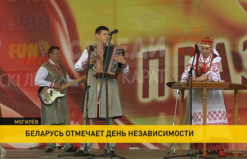 Беларусь празднует День Независимости: как проходят гуляния в регионах?