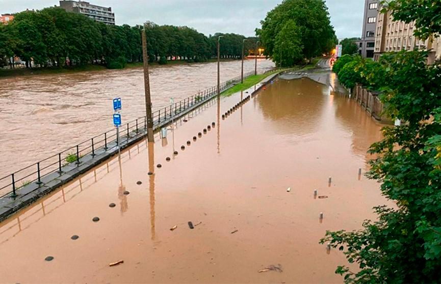 Новое наводнение обрушилось на южные районы Бельгии