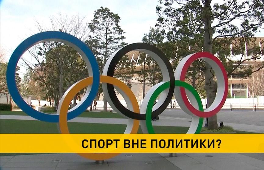 Еврочиновники предлагают запретить сборной Беларуси участвовать в Олимпиаде в Токио