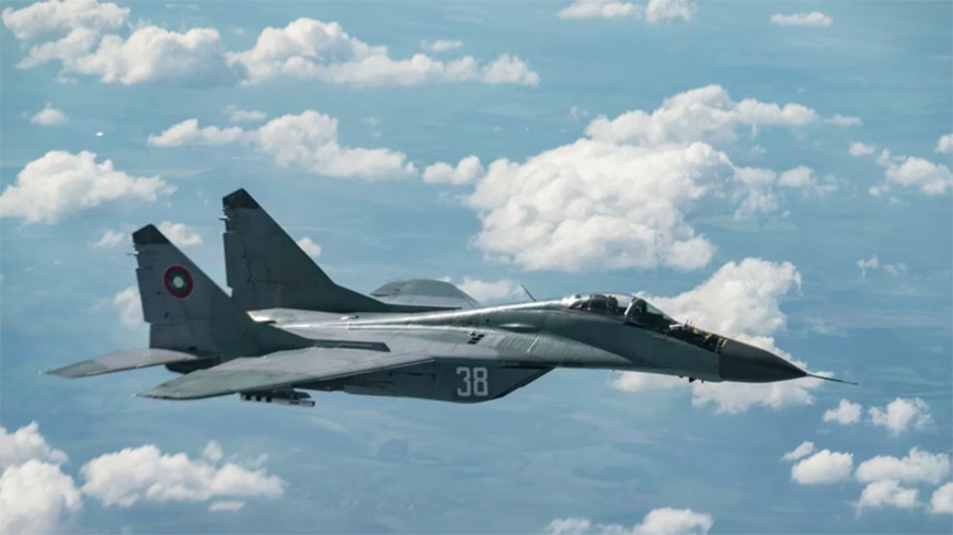 Пилот разбившегося истребителя МиГ-29 из Болгарии погиб