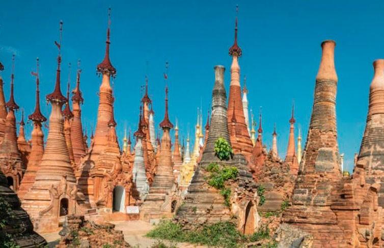 Древние пагоды Мьянмы в объективе французского фотографа. Это стоит увидеть (ФОТО)