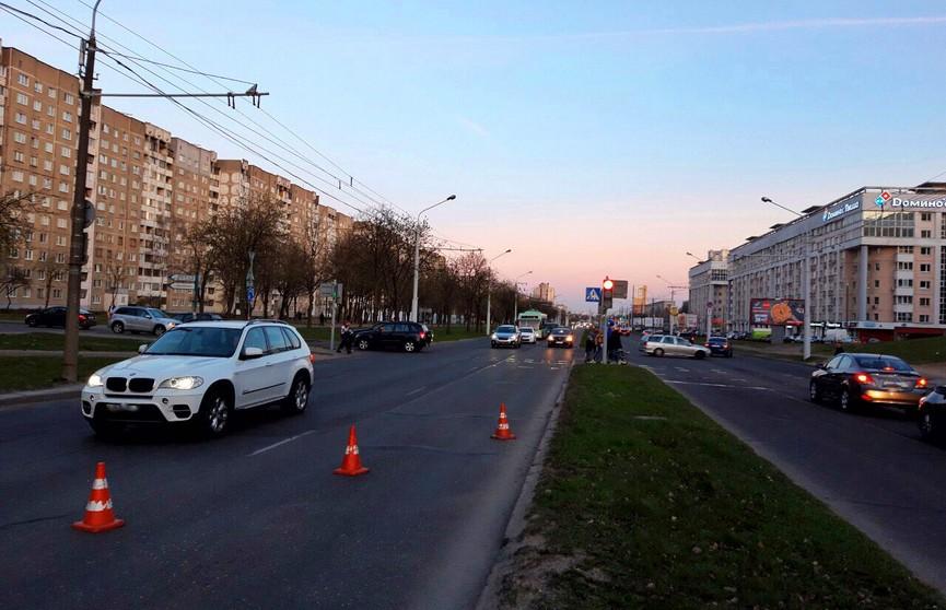 ДТП в Минске: пострадал мотоциклист