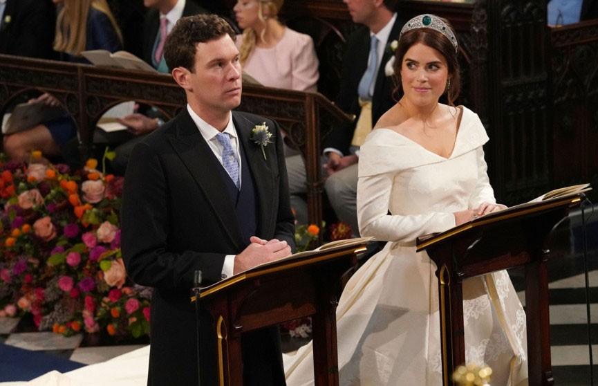 Ещё одна свадьба в британской королевской семье: принцесса Евгения вышла замуж