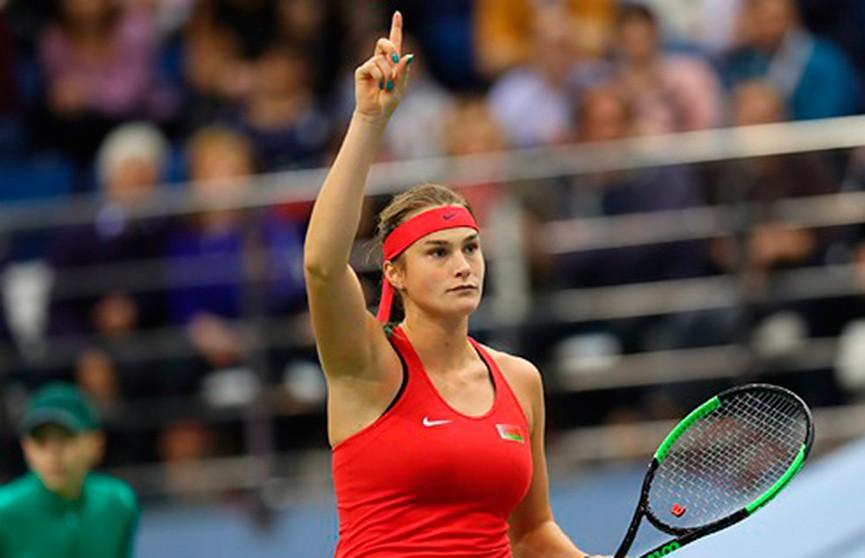 Арина Соболенко сыграет в малом итоговом турнире WTA