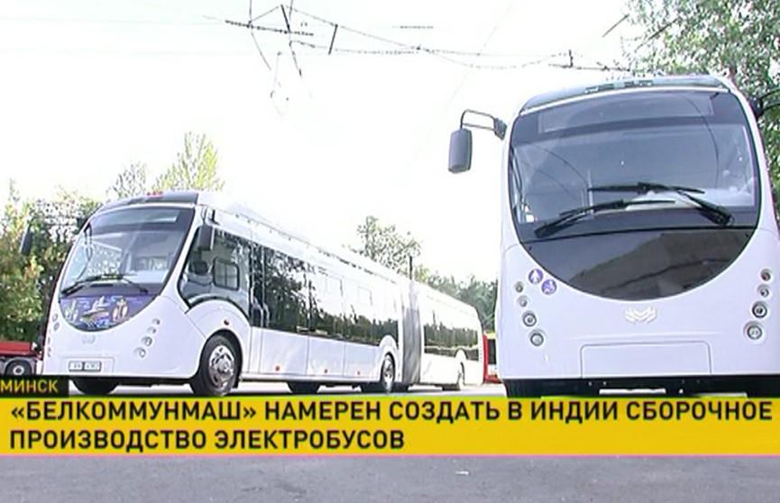 Производство белорусских электробусов вскоре появится в Индии