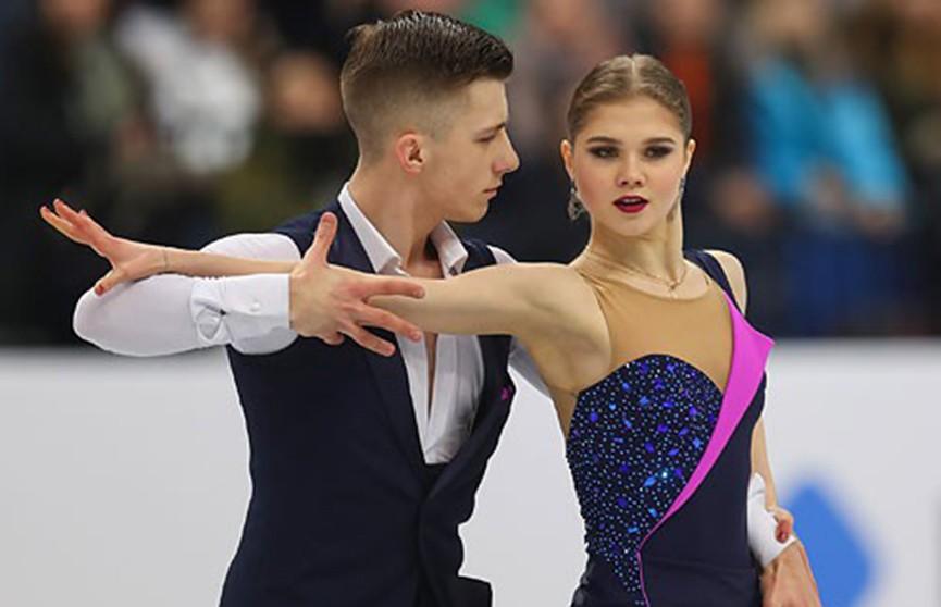 Белорусы Кубликова и Гулицкий квалифицировались в произвольную программу на чемпионате Европы в Минске