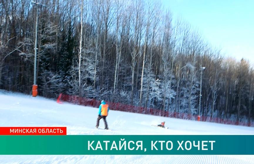 Комплекс «Силичи» открыл долгожданный сезон: любителям зимних видов спорта пора приходить в форму