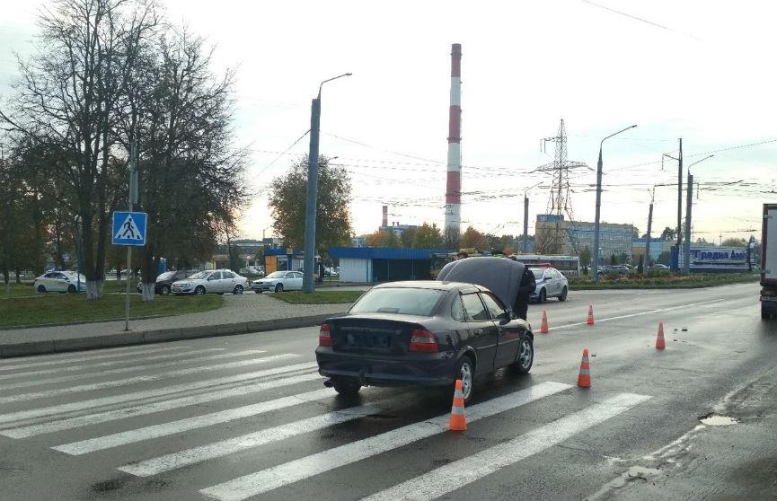 В Гродно машина сбила старушку на переходе