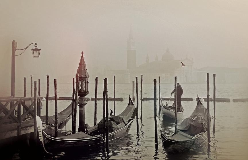 Каналы Венеции пересохли