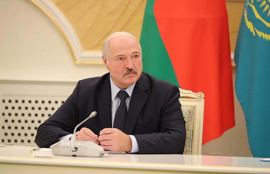 Лукашенко о транзите казахстанской нефти в Беларусь по территории России:  «Думаю, договоримся»